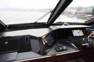 72' Marquis 720 2009 FWD view from helm