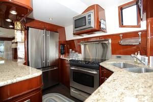 72' Marquis 720 2009 Galley View