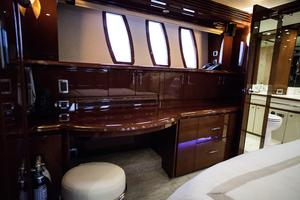 72' Marquis 720 2009 Vanity in master stateroom