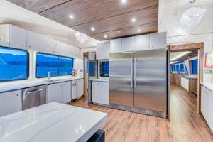 112' Westport Custom with Gregory Marshall Design 1994 Galley