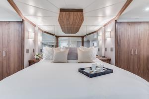 112' Westport Custom with Gregory Marshall Design 1994 VIP stateroom