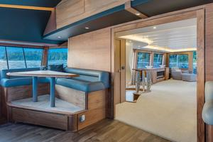112' Westport Custom with Gregory Marshall Design 1994 Pilothouse seating