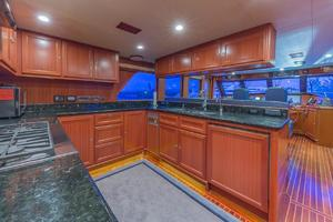 76' Alaskan 75 Pilothouse 2008 Professional chef's galley