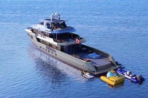 132' Custom Bray Ocean Rover 132 2019 Aft Profile