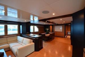 120' Inace Explorer 2012 Main saloon