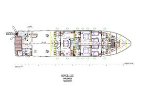 120' Inace Explorer 2012 Lower deck