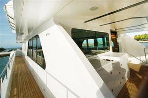 120' Inace Explorer 2012 Pilothouse deck