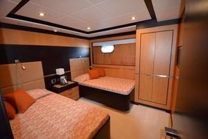 120' Inace Explorer 2012 Twin guest stateroom
