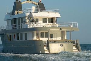 88' Ocean King 88 2020 Stern