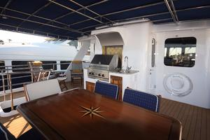 77' Real Ship Custom 2008 Aft upper Deck
