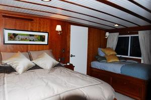 130' Custom Expedition Yacht 1973 Master Stateroom