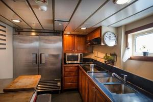 130' Custom Expedition Yacht 1973 Galley