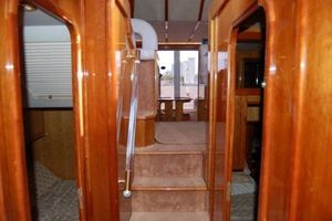 56' Gulf Craft Sport Flybridge Cruiser 2000 Gulf Craft Stairs to Staterooms