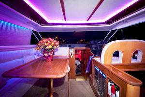 56' Gulf Craft Sport Flybridge Cruiser 2000 Gulf Craft Dining