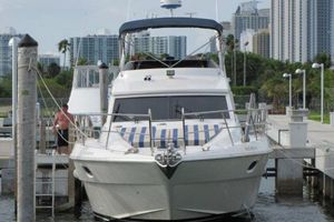 56' Gulf Craft Sport Flybridge Cruiser 2000 Gulf Craft Bow