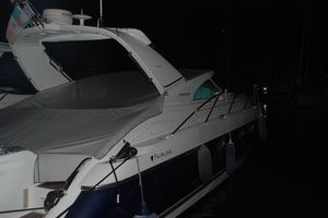 45' Fairline Targa 43 2004 Aft Profile at Night