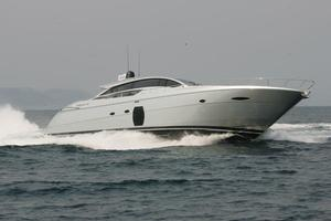 68' Pershing 72 2008 Manufacturer Provided Image