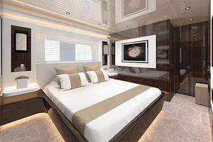 95' Pearl 95 2019 Manufacturer Provided Image: Pearl 95 Cabin