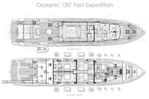 120' Canados Oceanic Fast Expedition 2018