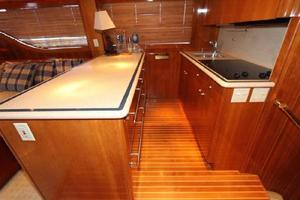 60' Hatteras Enclosed Bridge 2002 Galley