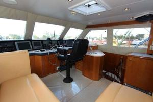 60' Hatteras Enclosed Bridge 2002 Enclosed Flybridge
