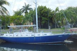 52' Creekmore Full Keel Cutter 2002 Starboard Profile
