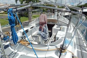 52' Creekmore Full Keel Cutter 2002 Cockpit Looking Forward