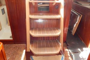 52' Creekmore Full Keel Cutter 2002 Companionway Ladder
