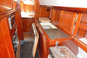 52' Creekmore Full Keel Cutter 2002 Galley Countertops