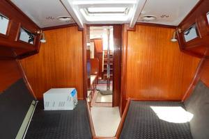 52' Creekmore Full Keel Cutter 2002 V-Berth Looking Aft