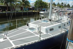 52' Creekmore Full Keel Cutter 2002 Port Mid Deck Aft