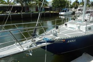 52' Creekmore Full Keel Cutter 2002 Port Bow Looking Aft