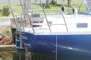 52' Creekmore Full Keel Cutter 2002 Transom