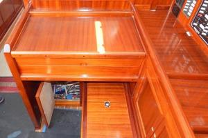 52' Creekmore Full Keel Cutter 2002 Navigation Desk