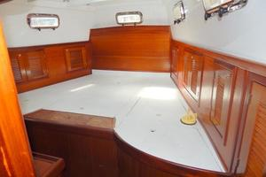 52' Creekmore Full Keel Cutter 2002 Master Stateroom