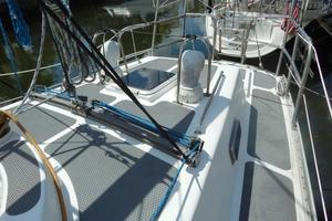 52' Creekmore Full Keel Cutter 2002 Aft Deck Looking Aft