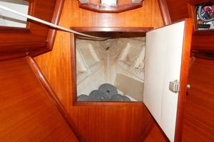 52' Creekmore Full Keel Cutter 2002 Anchor Locker