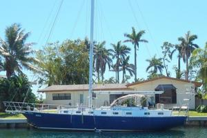 52' Creekmore Full Keel Cutter 2002 Port Profile