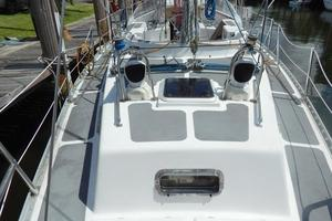 52' Creekmore Full Keel Cutter 2002 Aft Deck Looking Forward