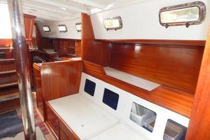 52' Creekmore Full Keel Cutter 2002 Salon to Port Aft