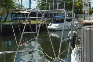 52' Creekmore Full Keel Cutter 2002 Stainless Steel Arch w/ Davits