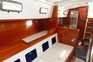 52' Creekmore Full Keel Cutter 2002 Salon to Starboard Aft