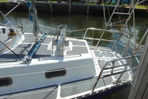 52' Creekmore Full Keel Cutter 2002 Port Side Aft Deck