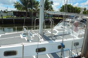 52' Creekmore Full Keel Cutter 2002 Port Mid Deck