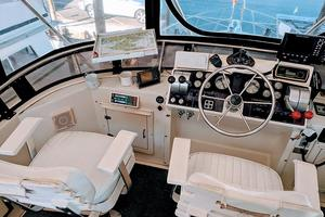 48' Californian Motor Yacht 1989 Flybridge Helm