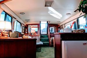48' Californian Motor Yacht 1989 Galley view aft