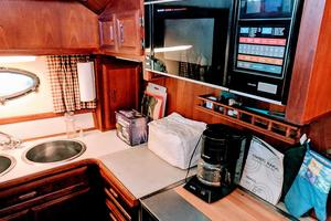 48' Californian Motor Yacht 1989 Galley