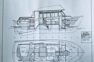 38' Pacific Seacraft Fast Trawler 2000 38' Pacific Seacraft 2000 Line Drawing