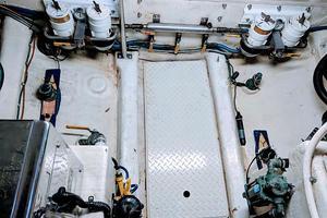 38' Pacific Seacraft Fast Trawler 2000 Engineroom