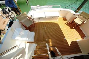 55' Neptunus Motor Yacht 1995 Aft Deck